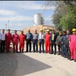 در نخستین روز سال نو انجام شد:  دیدار نوروزی مدیرعامل مناطق نفت خیز جنوب با کارکنان خط اول تولید