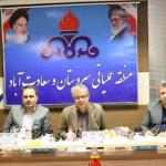 با حضور معاون تولید شرکت ملی نفت ایران  چالشهای شرکت نفت و گاز زاگرس جنوبی بررسی شد