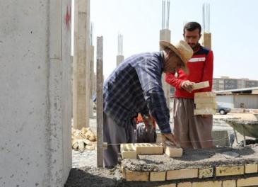 ساخت مدرسه متوسطه مجموعه ۲۰۰۰ واحدی نفت اهواز به پیشرفت ۱۵ درصدی رسید
