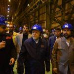 با حضور زنگنه و کرباسیان انجام شد:بررسی روند تولید لوله های مورد نیاز طرح ملی انتقال نفت خام گوره-جاسک