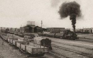 احداث خط آهنی