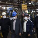 بازدید مدیرعامل شرکت ملی مناطق نفتخیز جنوب و هیئت همراه از شرکت لوله سازی اهواز