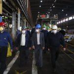 گزارش تصویری بازدید مدیرعامل شرکت ملی مناطق نفتخیز جنوب از شرکت لوله سازی اهواز