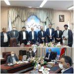 دیدار چند تن از نمایندگان استان خوزستان با معاون پارلمانی رئیس جمهور