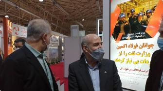 مدیرعامل شرکت ملی گاز ایران مطرح کرد:همه چشم ها به ورقی ست که فولاد اکسین خوزستان تولید می کند