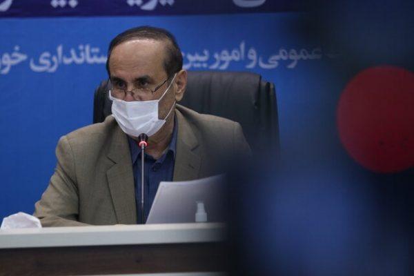 استاندارخوزستان خبر داد:ادامه اعمال محدودیتهای شدید در خوزستان تا شنبه هفته آینده