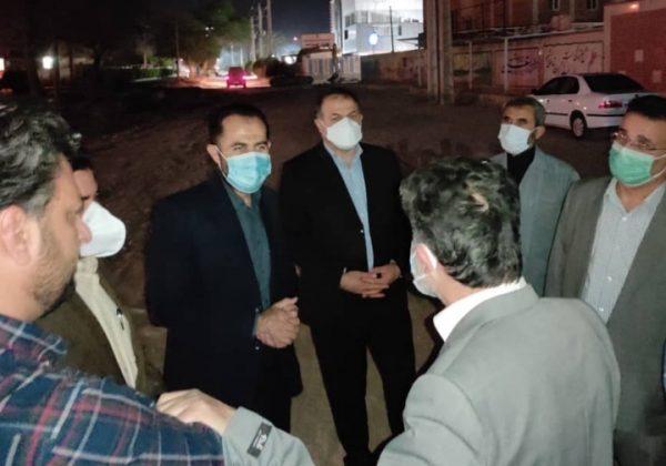تاکید فرماندار مسجدسلیمان برتکمیل پروژه فاضلاب شهری و ایجاد توازن در توزیع آب مناطق مختلف شهری
